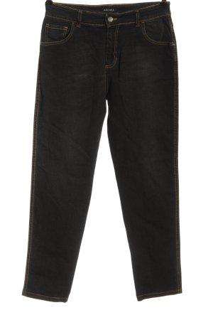 Ancora Jeans a gamba dritta nero stile casual