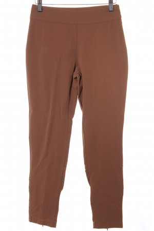 Ancora Stretch Trousers cognac-coloured casual look