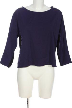Ancora Sweatshirt bleu-blanc style décontracté