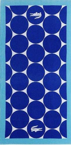 Lacoste Ręcznik plażowy niebieski
