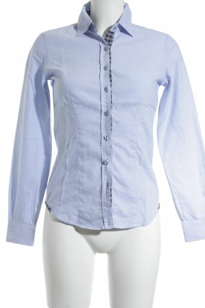 and Langarmhemd himmelblau Casual-Look
