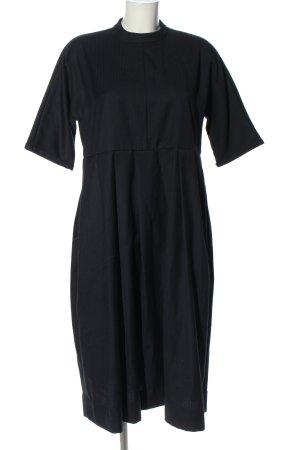 And Less Midi-jurk zwart casual uitstraling