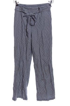 Andeawy Baggy Pants schwarz-weiß Streifenmuster Casual-Look