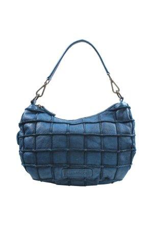 Andere Marke Schultertasche in Blau aus Leder