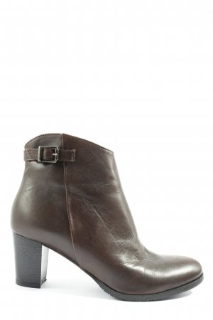 Andiamo Booties braun Business-Look