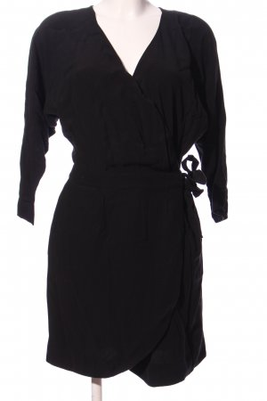 AndOtherStories Robe portefeuille noir style d'affaires