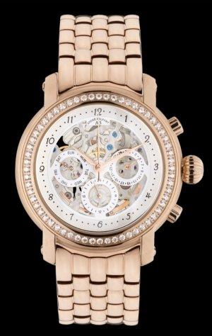 André Belfort Horloge met metalen riempje roségoud