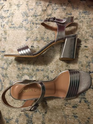 Andrea Conti Strapped High-Heeled Sandals multicolored
