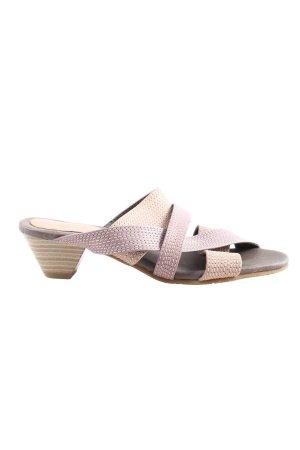 Andrea Conti Heel Pantolettes pink casual look
