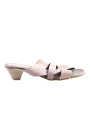 Andrea Conti Heel Pantolettes cream casual look