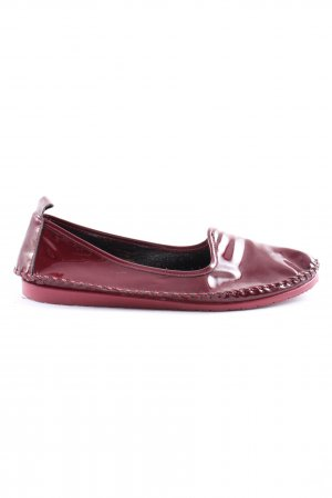 Andrea Conti Foldable Ballet Flats brown casual look