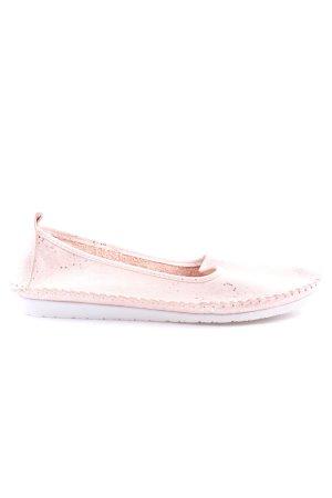 Andrea Conti Foldable Ballet Flats cream casual look