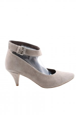 Andrea Conti High Heels wollweiß Business-Look