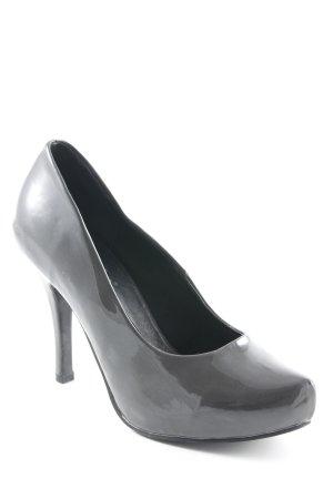 Andrea Conti Tacones altos gris antracita elegante