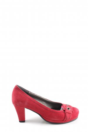 Andrea Conti High Heels rot Casual-Look