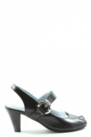 Andrea Conti Mary Jane Pumps schwarz Casual-Look