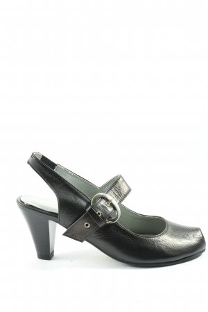 Andrea Conti Mary Jane Pumps schwarz Business-Look