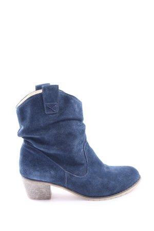 Andrea Conti Bottines à enfiler bleu style décontracté