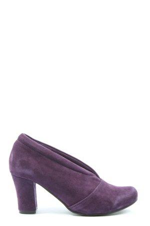 Andrea Conti Slip-on violet style décontracté