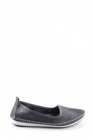Andrea Conti Slip-on Shoes black leather
