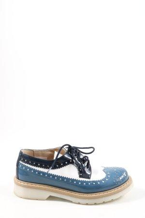 Andrea Conti Zapatos brogue multicolor look casual