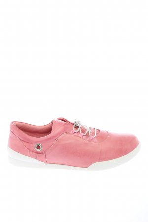 Andrea Conti Lace-Up Sneaker pink casual look