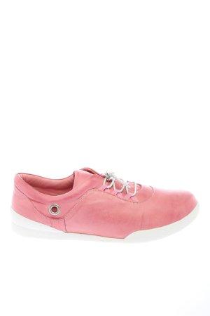 Andrea Conti Sneaker stringata rosa stile casual