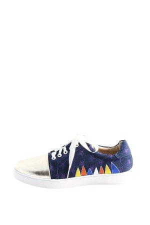 Andrea Conti Sneaker stringata motivo astratto stile casual