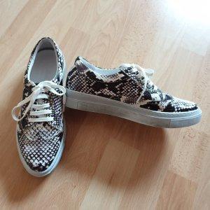 Andrea Conti Sneaker - Echtes Leder - Snakemuster - Gr. 38 NEU - OP 79,99