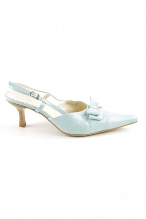 Andrea Conti Pointed Toe Pumps turquoise casual look