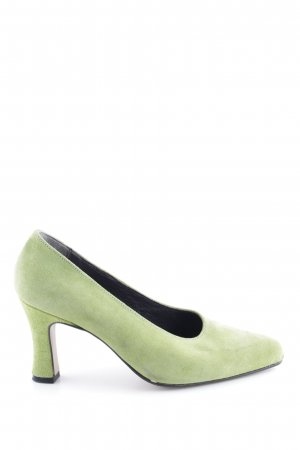 Andrea Conti Spitz-Pumps grün Casual-Look