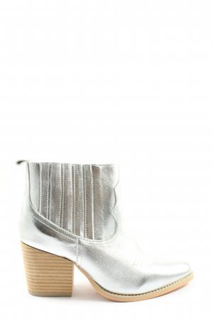 Andrea Conti Western Booties silver-colored casual look