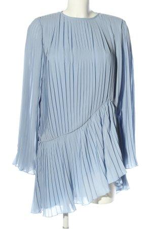 Andrea Hedenstedt x NA-KD Langarmkleid blau Casual-Look