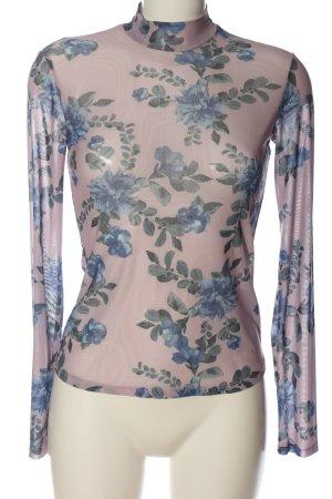 Andrea Hedenstedt x NA-KD Transparante blouse volledige print elegant