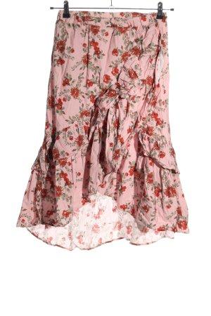 Andrea Hedenstedt x NA-KD Flounce Skirt allover print elegant