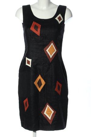 Andrea jovine Pencil Dress black graphic pattern elegant
