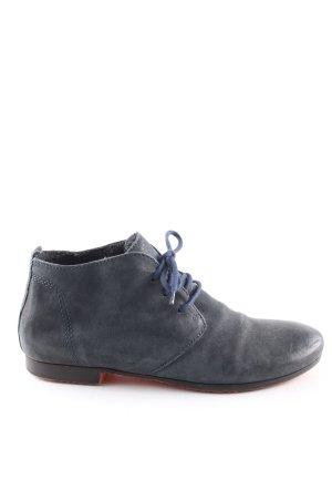 Andrea Manueli Zapatos brogue azul estilo «business»