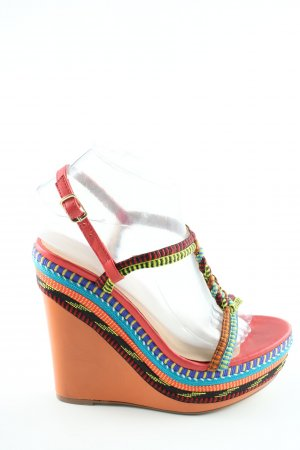 Andrea Puccini High Heel Sandal spot pattern casual look