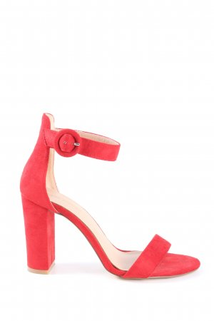 Andrea Puccini High Heel Sandal red casual look