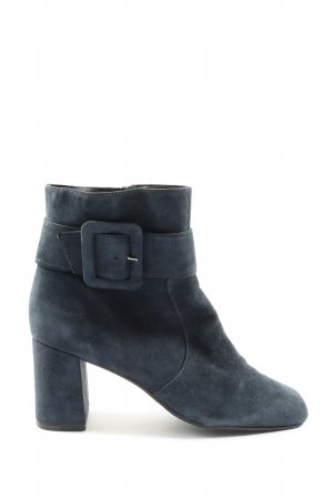 Andrea Puccini Zipper Booties light grey casual look