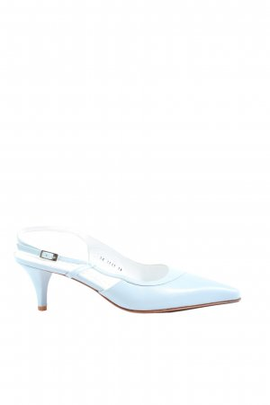 Andrea Puccini Slingback Pumps blue casual look