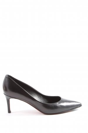 Andrea Puccini Spitse pumps zwart casual uitstraling