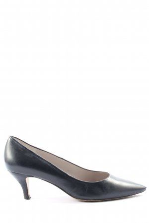 Andrea Puccini Pointed Toe Pumps blue casual look
