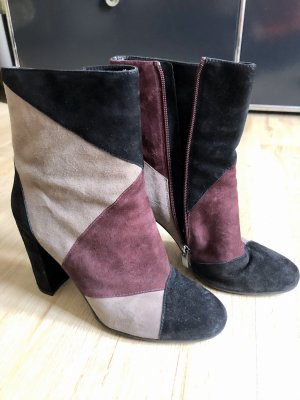 Andrea Puccini Heel Boots black-bordeaux