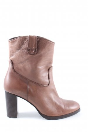 Andrea Puccini Ankle Boots brown casual look