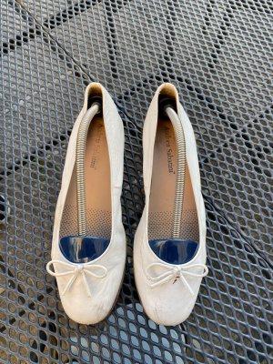 Andrea Sabatini Ballerines classiques blanc cuir