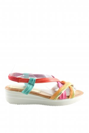Andrea Sabatini Platform High-Heeled Sandal multicolored casual look