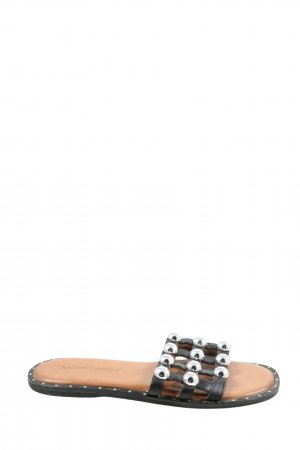 Andrea Sabatini Strapped Sandals black casual look