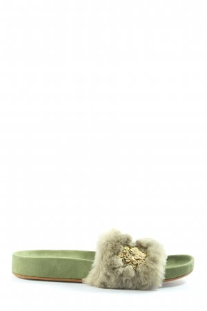 Andrea Sabatini Sabots green casual look
