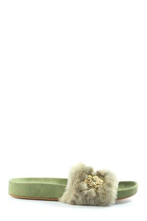 Andrea Sabatini Sabot zielony W stylu casual